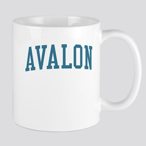 Avalon New Jersey NJ Blue Mug