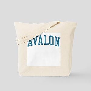 Avalon New Jersey NJ Blue Tote Bag