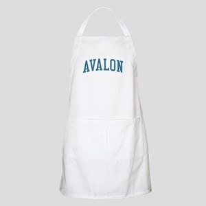 Avalon New Jersey NJ Blue BBQ Apron