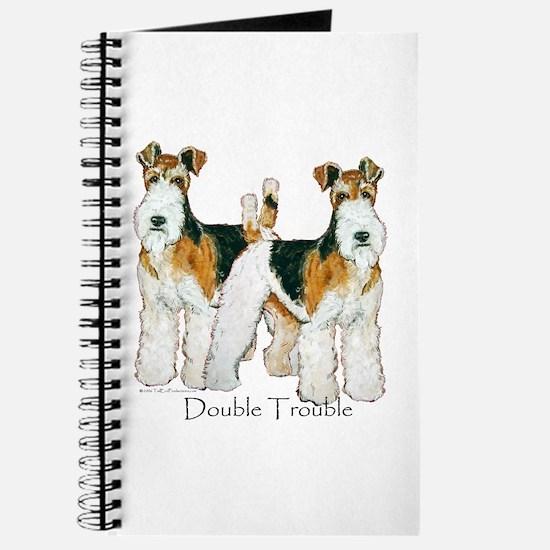 Fox Terrier Trouble! Journal