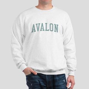 Avalon New Jersey NJ Green Sweatshirt