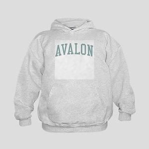 Avalon New Jersey NJ Green Kids Hoodie
