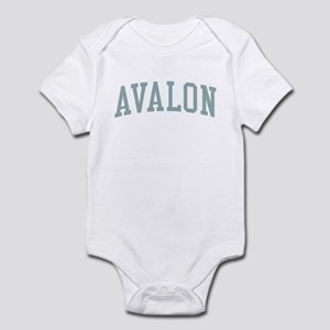 Avalon New Jersey NJ Green Infant Bodysuit