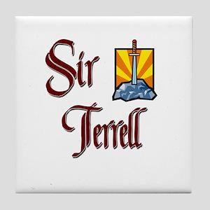 Sir Terrell Tile Coaster