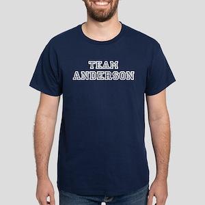 TEAM ANDERSON Dark T-Shirt
