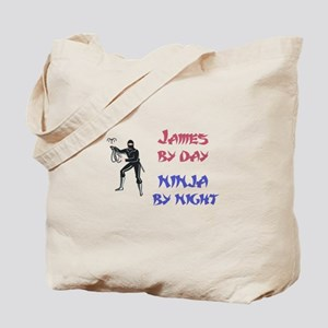 James - Ninja by Night Tote Bag