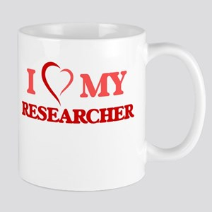 I love my Researcher Mugs