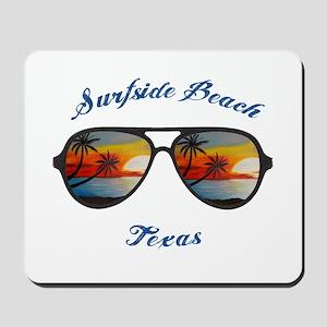 Texas - Surfside Beach Mousepad