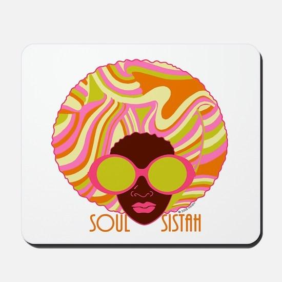 Soul Sistah Brown Mousepad
