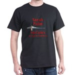 """McCain's Bridge"" Black T-Shirt"