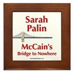 """McCain's Bridge"" Framed Tile"