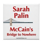"""McCain's Bridge"" Tile Coaster"