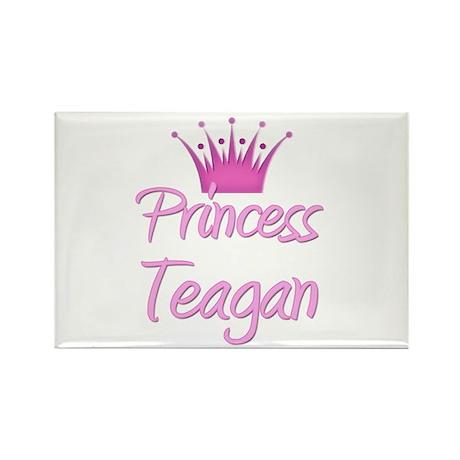 Princess Teagan Rectangle Magnet