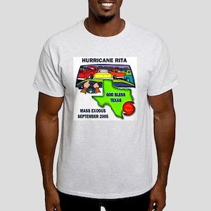 Texas Mass Exodus Ash Grey T-Shirt