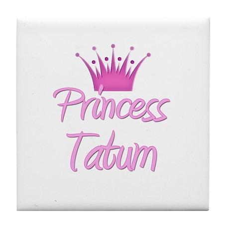 Princess Tatum Tile Coaster