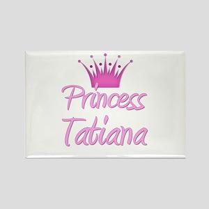 Princess Tatiana Rectangle Magnet