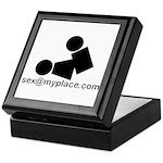 Sex @ My Place Keepsake Box