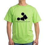 Sex @ My Place Green T-Shirt
