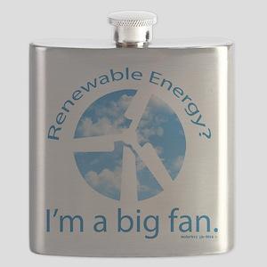 Big fan of renewable energy Flask