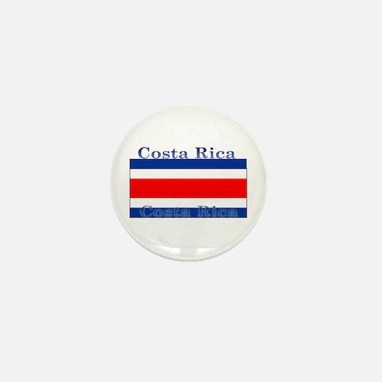 Costa Rica Costa Rican Flag Mini Button