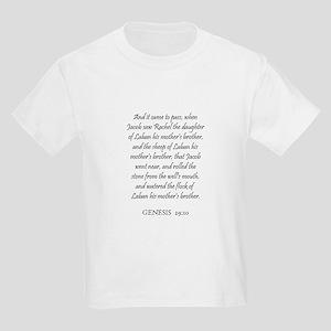 GENESIS  29:10 Kids T-Shirt