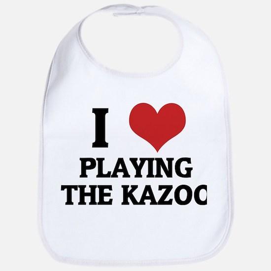 I Love Playing the Kazoo Bib