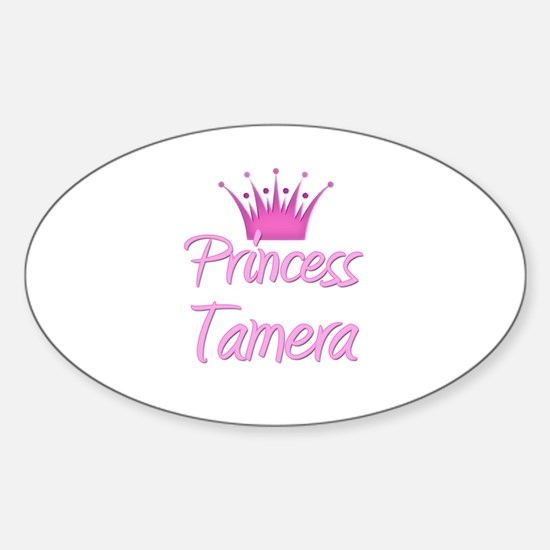 Princess Tamera Oval Decal