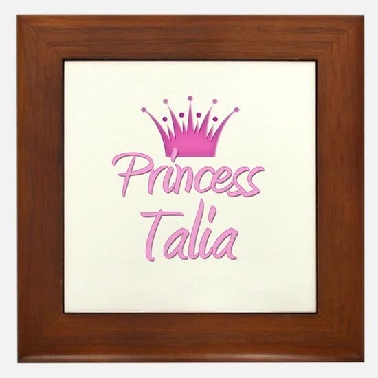 Princess Talia Framed Tile