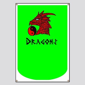 Green Dragons Banners Edgy Banners