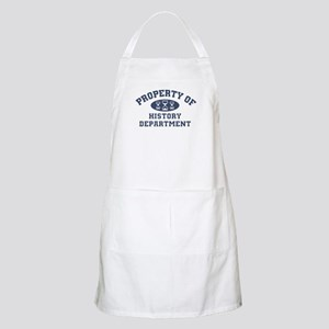 Property Of History Department Light Apron