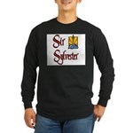 Sir Sylvester Long Sleeve Dark T-Shirt