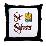 Sir Sylvester Throw Pillow