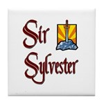 Sir Sylvester Tile Coaster