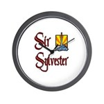 Sir Sylvester Wall Clock