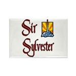 Sir Sylvester Rectangle Magnet (10 pack)