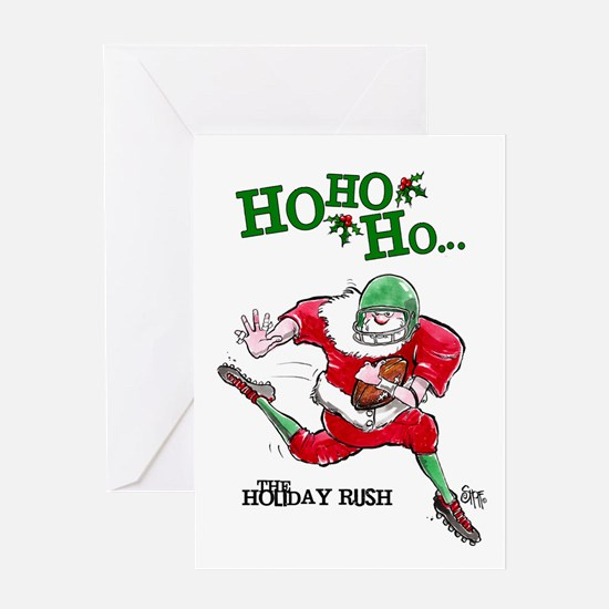 Football Mojo Holiday Greeting Card