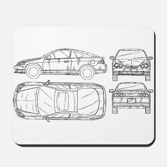 Acura RSX Mousepad