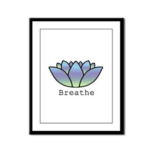 Breathe Framed Panel Print
