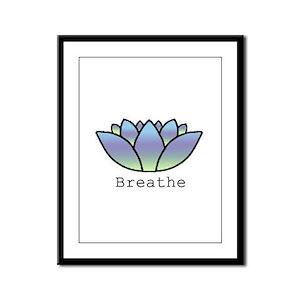 Breathe Framed Panel Print
