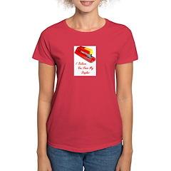 I believe you have my stapler Women's Dark T-Shirt