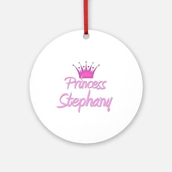 Princess Stephany Ornament (Round)