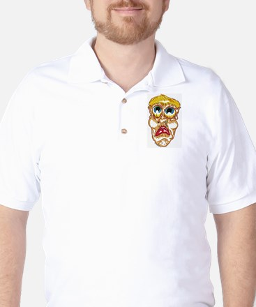 sad eyes Golf Shirt
