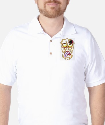 hole in the head Golf Shirt