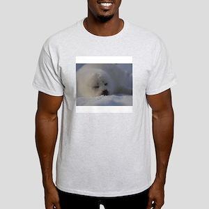 Baby Seal Ash Grey T-Shirt