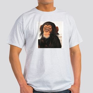 Chimpanzee Ash Grey T-Shirt