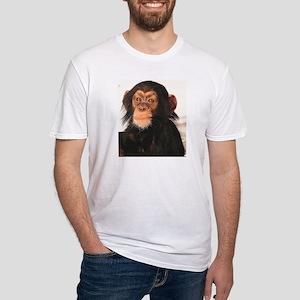 Chimpanzee Fitted T-Shirt