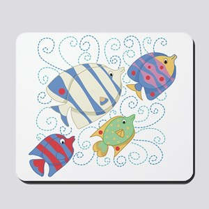 Fish School Mousepad