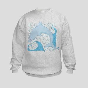 Dolphin Daze Kids Sweatshirt