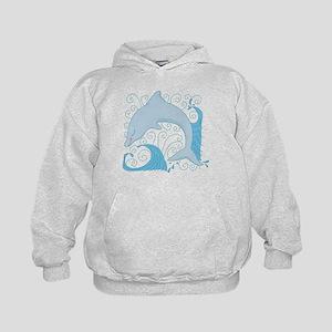 Dolphin Daze Kids Hoodie