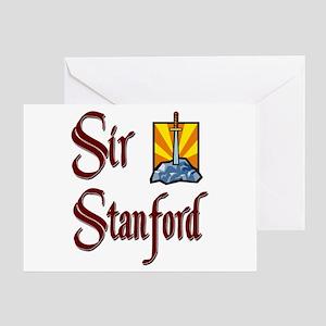 Sir Stanford Greeting Card